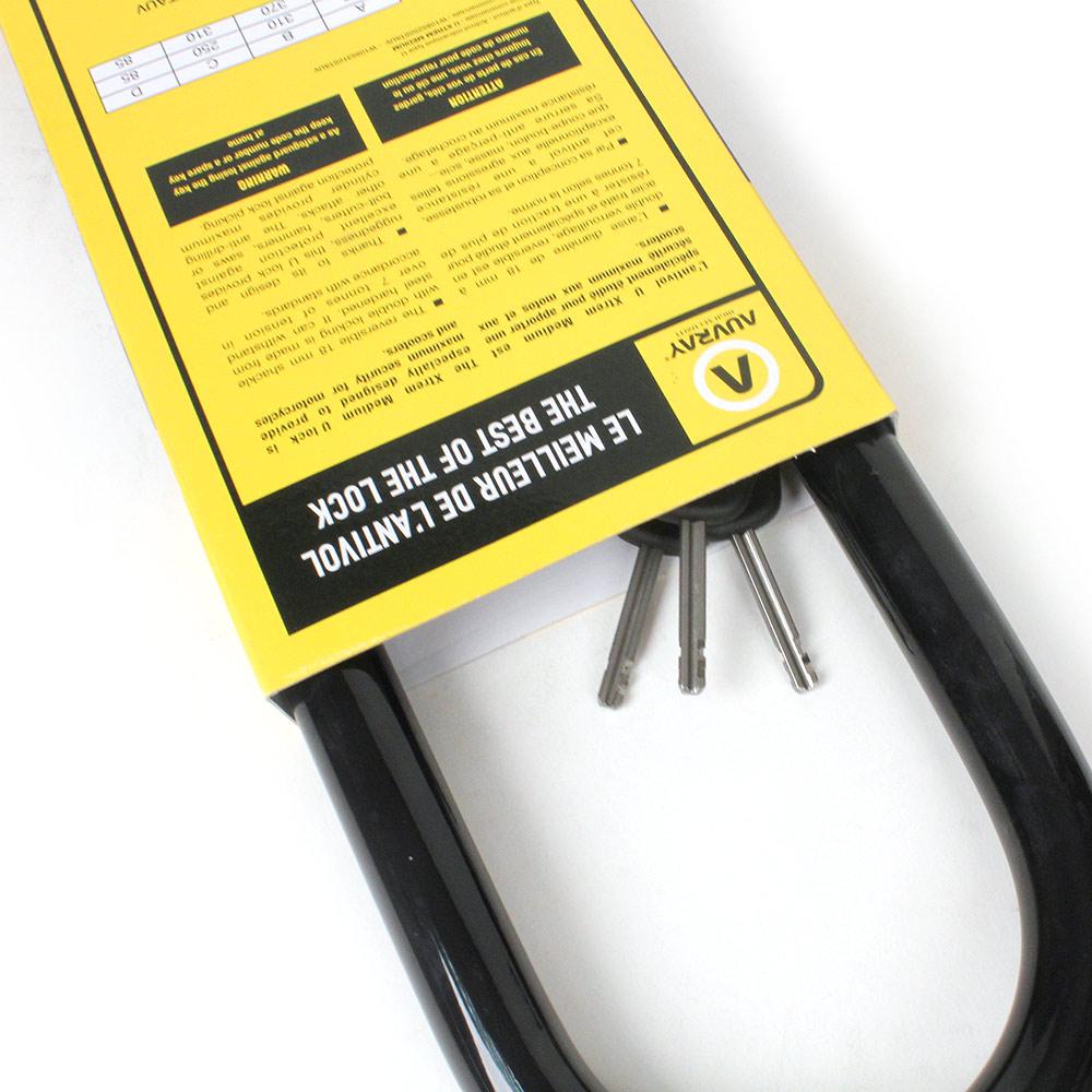 Utilisez l'antivol de votre moto même dans votre garage
